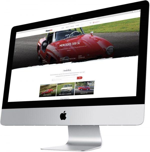 Afbeelding voor Auto Review / Classic Cars lanceert website over klassiekers en youngtimers