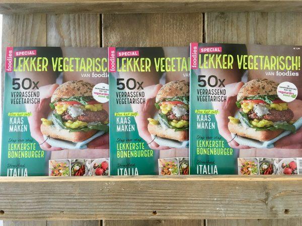 Afbeelding voor 'Lekker Vegetarisch': unieke samenwerking van foodies en de Vegetariërsbond