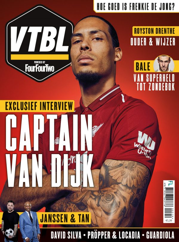Afbeelding voor FourFourTwo wordt VTBL magazine