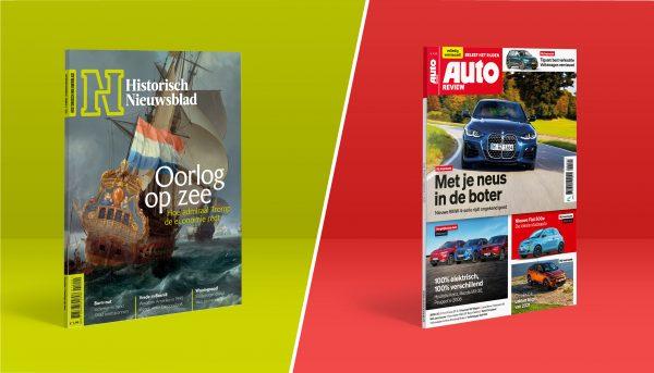 Afbeelding voor Grote restylingen voor Auto Review en Historisch Nieuwsblad